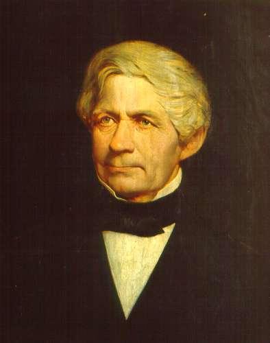 Jacob Nöbbe: Wichern, um 1869, im Rauhen Haus in Hamburg