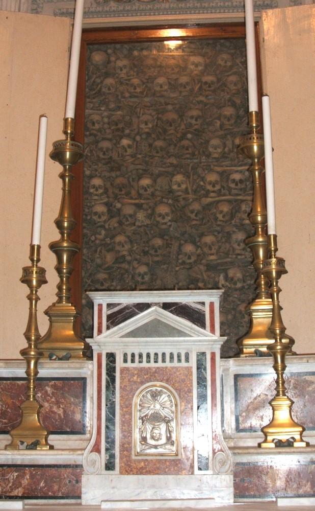 Schädel der Märtyrer in der Kathedrale in Otranto