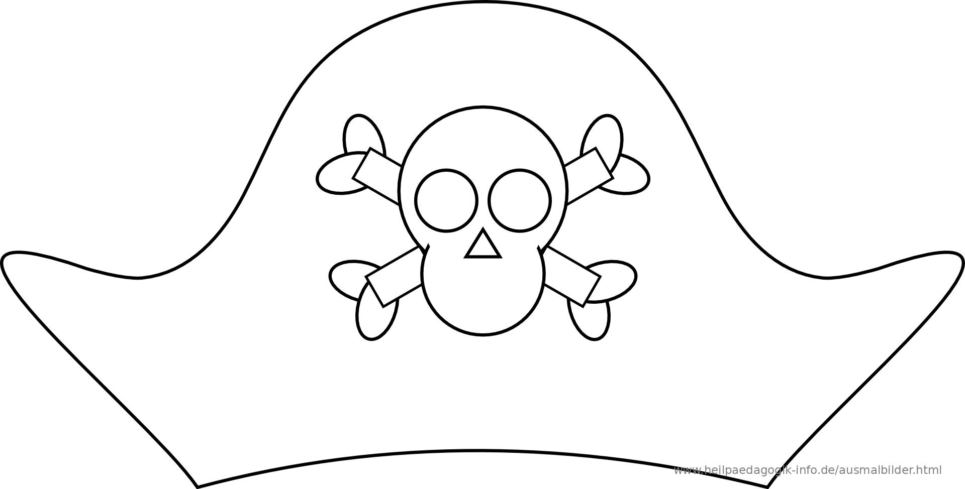 Pirate Hat Printable Coloring Pages Coloring Pages