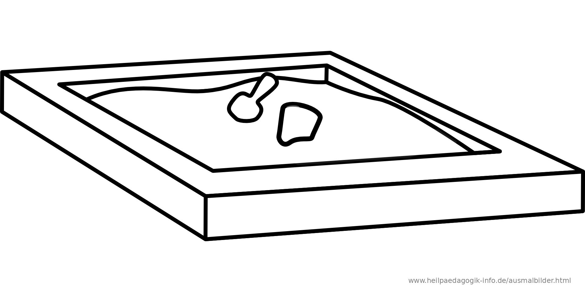 Sandbox Coloring Page Coloringcom Sketch Coloring Page