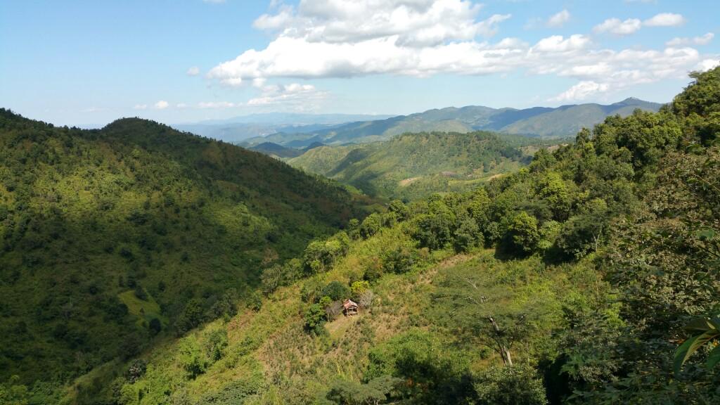 Myanmar - Tag 9 Rundwanderung um Kalaw und Viewpoint