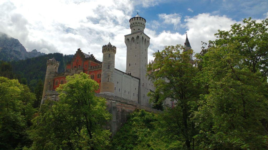 Allgäu - Tag 4 - Fahrradtour Roßhauten - Schloss Neuschwanstein - Füssen