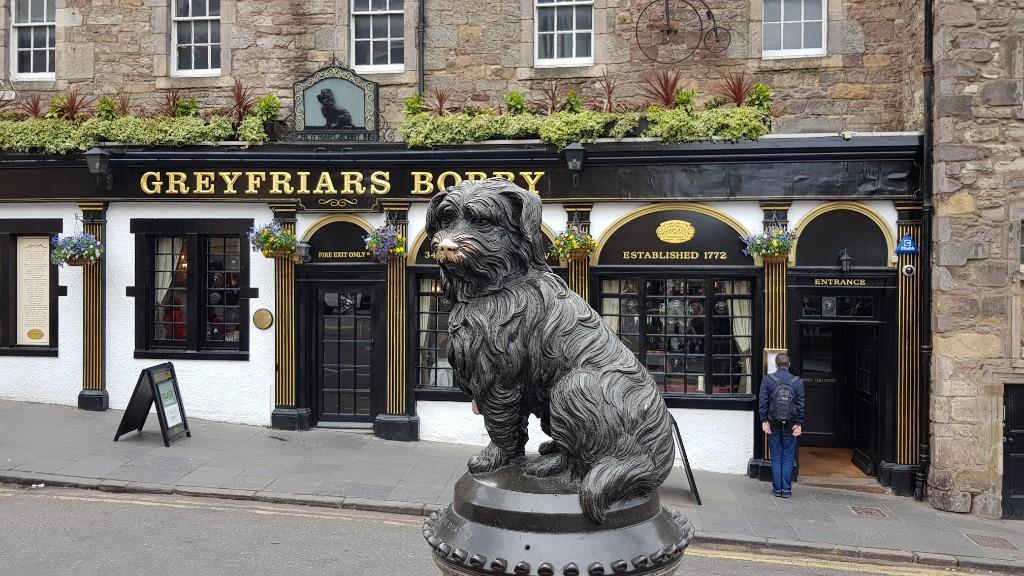 Schottland - Tag 1 Anreise und Edinburgh