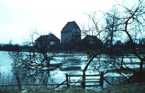 Düh01 000 1965DömäneSchlossHochwasser