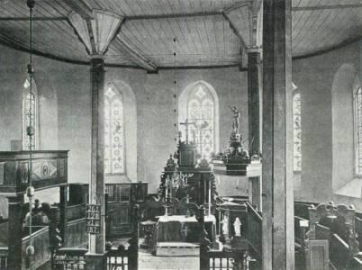 Kirche Sachsenhagen innen WENNER