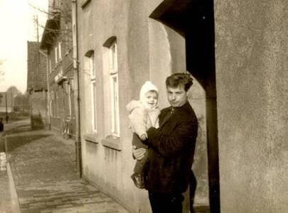 Kuh15 06 1963 Haus Larson, Langerwisch, Kerstin Drews geb Heil Werner Schlüter