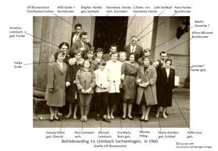 1005 1960 Betriebsausflug Fa. Leimbach