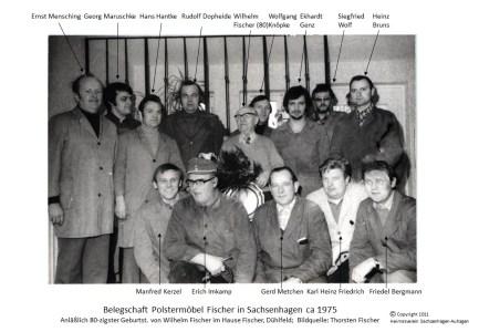 1011 1975 Fischer Belegschaft