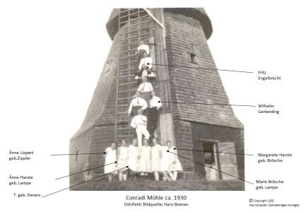 1202 1930 Conradi Mühle Dühlfeld