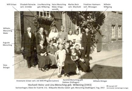 1307 1943 Hochz Heinz Mensching Obere Str.9