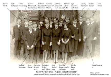 1513 1966 Konfirm Sachsenhagen