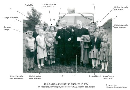 1515 1960 Kommunion Auhagen