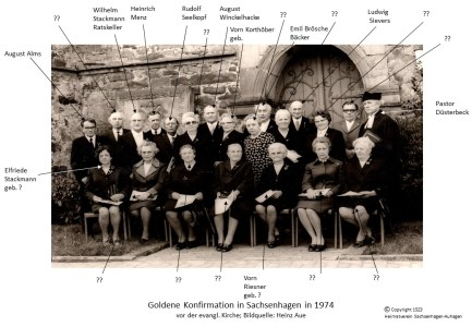 1523 1974 Gold Konfirm Sachsenh