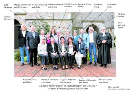 1525 2017 Goldene Konfirmation Sachsenhagen