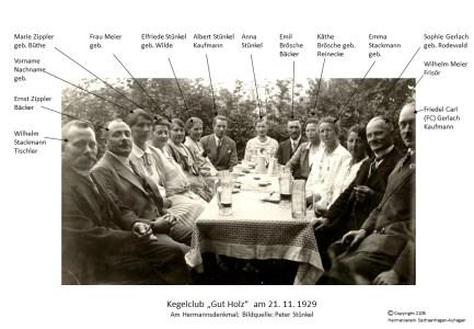2105 1929 Kegelclub Gut Holz