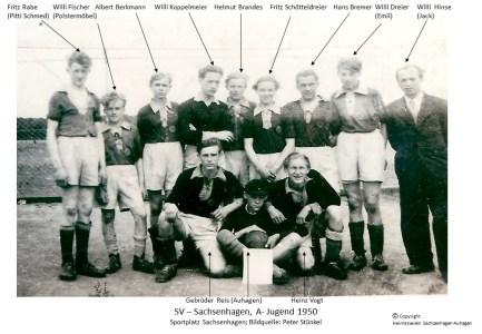 SV Sachsenhagen A-Jugend 1950