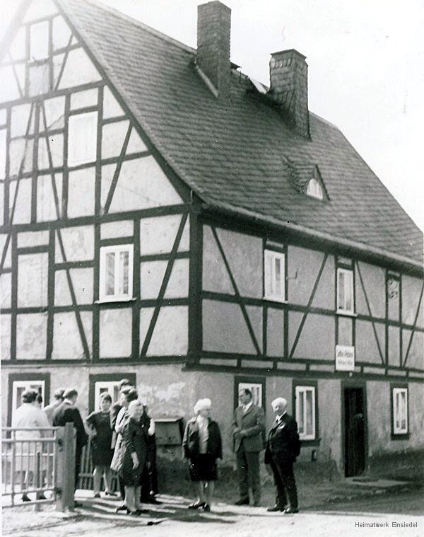 Rosenstraße 12 1971 Sattlerei Wilde