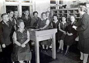 Angestellte der Einsiedler Post 1974