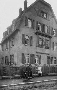 Seydelstraße 14 um 1912