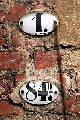 Berggasse 1 Ortslistennummer 84D