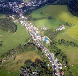 Luftbild Berbisdorfer Straße 12. Juli 2013
