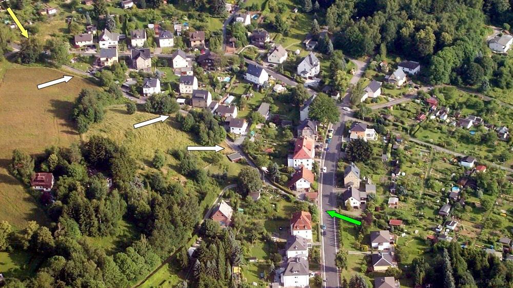 Dittersdorfer Weg Einsiedel am 12.7.15.