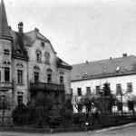 Einsiedler Hauptstraße 75 und 77 Wattefabrik Franz Hahn