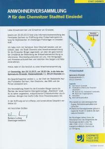 2. Bürgerversammlung 29.10.15 Einladung