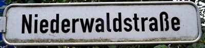 Niederwaldstraße Einsiedel