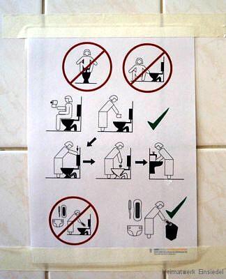 Piktogramm Toilettenbenutzung Frauen