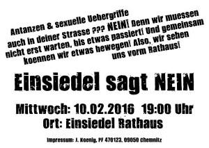 Demo 10.2.2016 Flyer