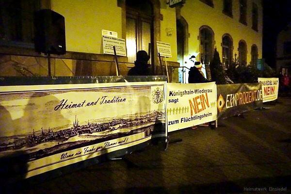 Gäste zur Einsiedler Demo am 24.02.2016