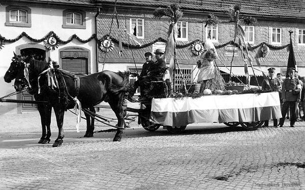 Erntedankfest in Einsiedel 1934