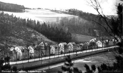 Erfenschlager Straße in Einsiedel 24.06.1939