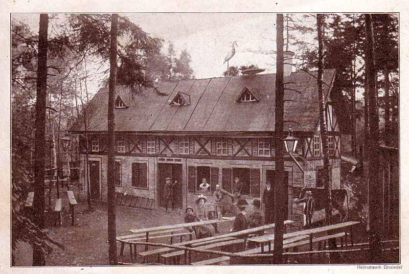 Das Storchennest, erbaut 1905