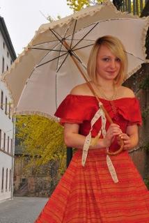 Fotografien im historischen Kleid: Foto Matthias Matthes
