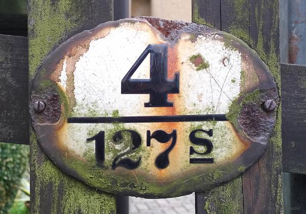 Ortslistennummer 127 S ist Dittersdorfer Weg 4 in Einsiedel