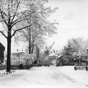 Friedenseiche Einsiedel Winter 1928