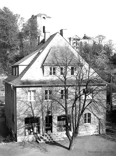 Neue Apotheke Einsiedel - die 1950er Jahre