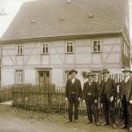 Schieferwinkel Einsiedel: Berbisdorfer Straße 7 mit italienischen Gastarbeitern