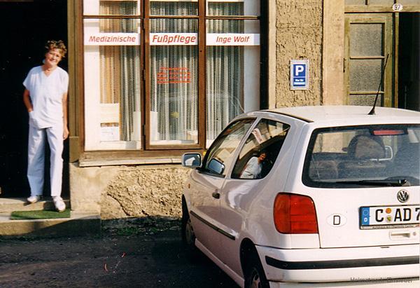 Fußpflege Inge Wolf August 1999