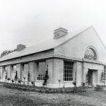 Erste Filterhalle in Einsiedel