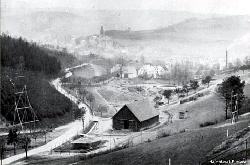Altenhainer Allee vor dem Talsperrenbau