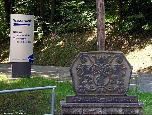 Ortseingang Einsiedel Altenhainer Allee