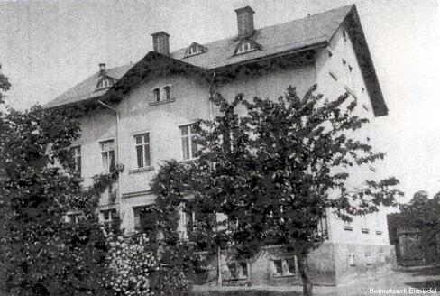 Forstamt Einsiedel vor der Zerstörung 1945