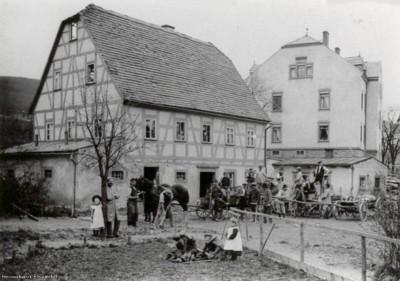 Herrmann-Gut Einsiedel vor dem Abriss