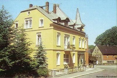 Café zur Talsperre Einsiedel in den 1980er Jahren