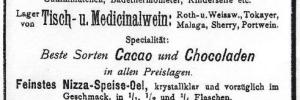 Annonce Apotheke Einsiedel 1897
