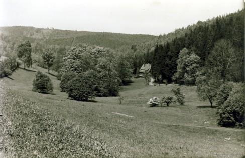 Fischzuchtgrund Einsiedel 1938