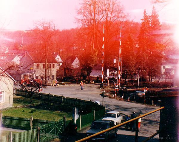 Baumfällarbeiten 1991